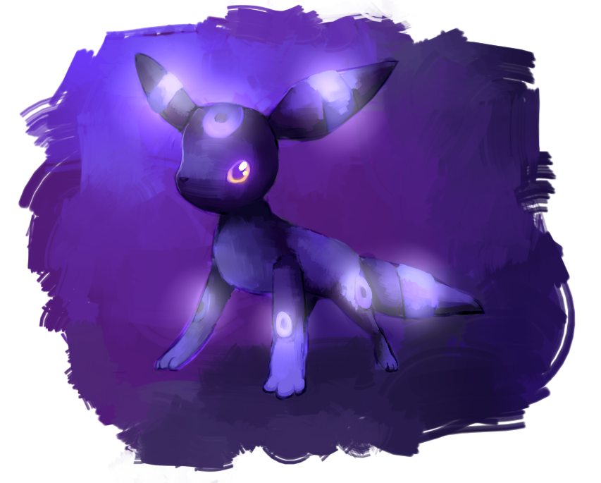Shiny Umbreon by kiwisco