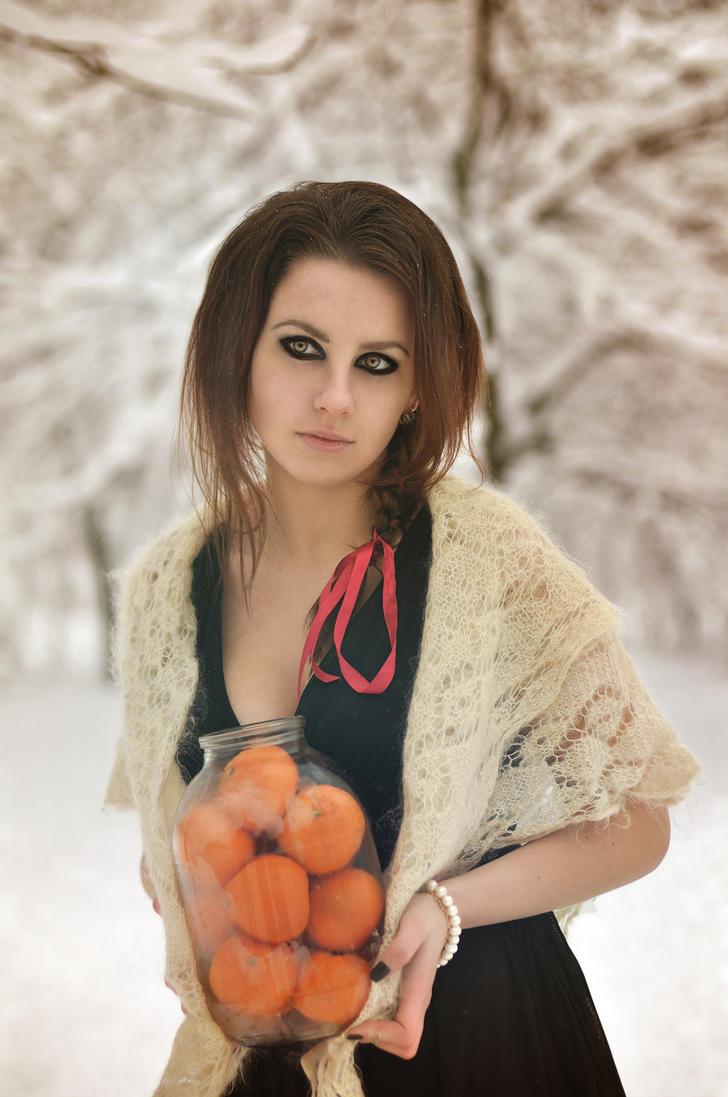 Tangerines by Siilin