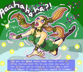 The Great Fairy Mask (Link TF/TG) by Sera-fuku