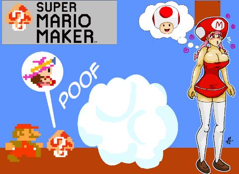 Mystery Mushroom - Toadette (Mario TF/TG)