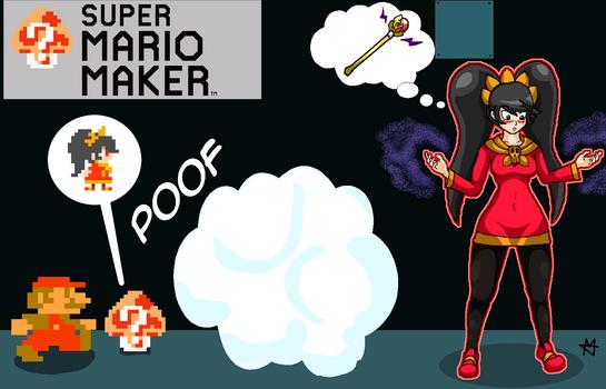 Mystery Mushroom - Ashley (Mario TF/TG)