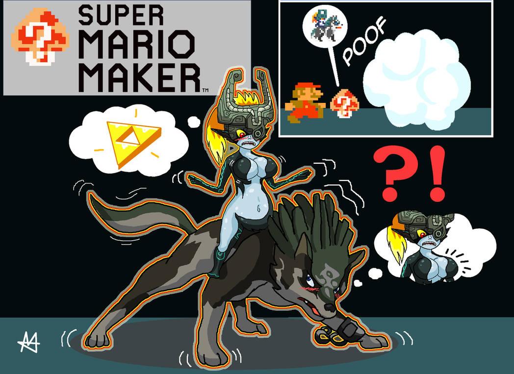 Mystery Mushroom - Wolf Link + Midna (Mario TF/TG)