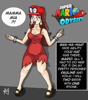 Super Mario Odyssey (TG/Possession) by Sera-fuku