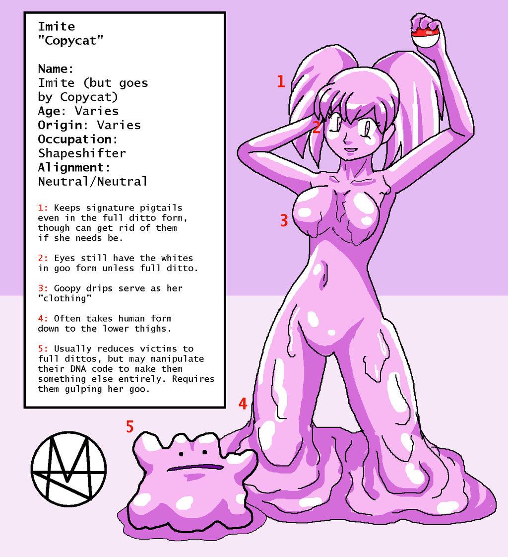 Meet the Copycat / Copycat Reference Sheet by Sera-fuku