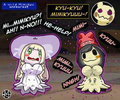 Com: Hunting Mimikyu (Mimikyu TFs) by Sera-fuku