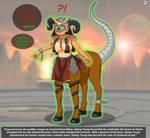 Shang Tsung Wins (Shao Kahn Centauress TF/TG) by Sera-fuku