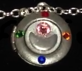 Sailor Moon Star Locket Metal Brooch Cosplay by timetraveler24