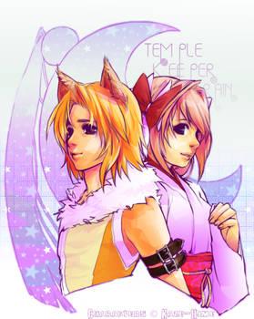 Kaze-Hime's Krona n Fox Rain