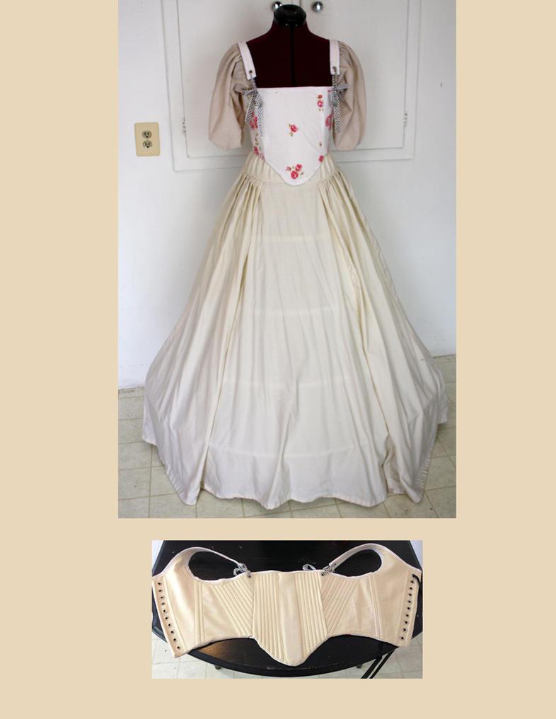 Tudor undergarments by EmeraldRose3