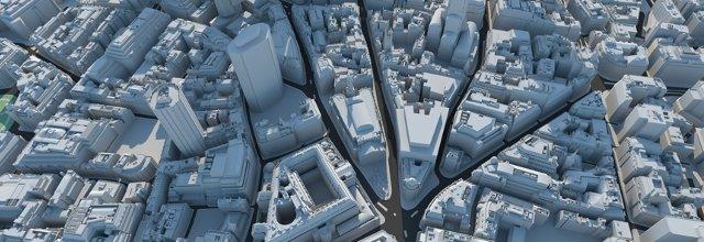 3D Model City of London by Vertex-Modelling on DeviantArt