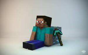 Minecraft Guy by TroloByteFX