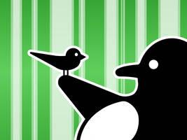 LinuxBird Wallpaper nr.1 Green by LinuxBird