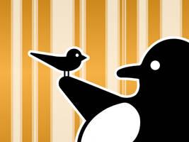 LinuxBird Wallpaper nr.1 Orang by LinuxBird