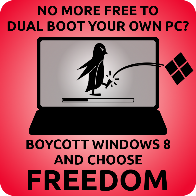 Boycott Windows 8