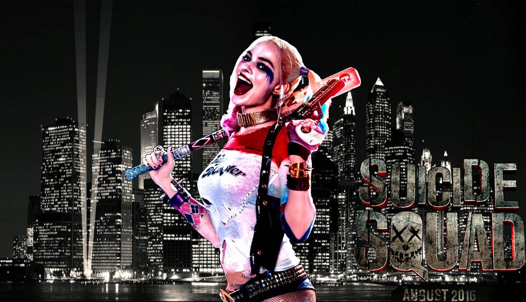SS Harley Quinn Wallpaper By Asthonx1