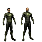 Green Lantern - Transparent