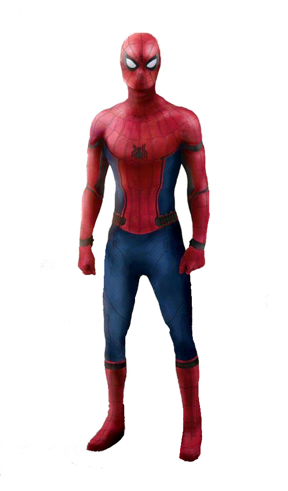 3d spider man transparent - photo #26