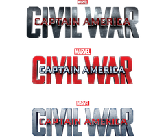 Captain America Civil War All Transparent Titles by Asthonx1