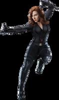Black Widow - Transparent
