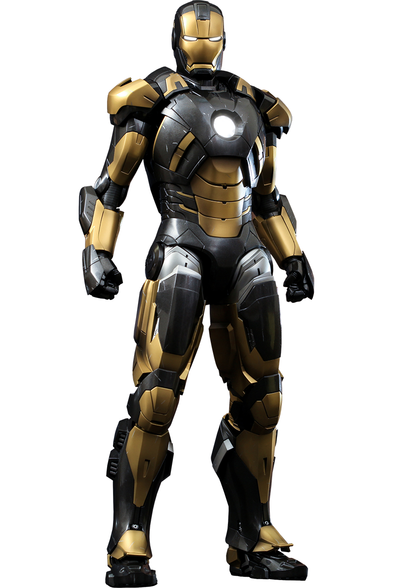 Iron Man Mark 25 Striker Hot Toys Transparent By Asthonx1 On Deviantart