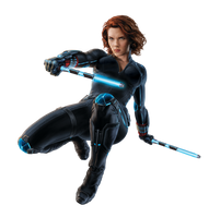 Black Widow - Transparent by Asthonx1