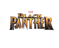 Black Panther - Title Transparent by Asthonx1