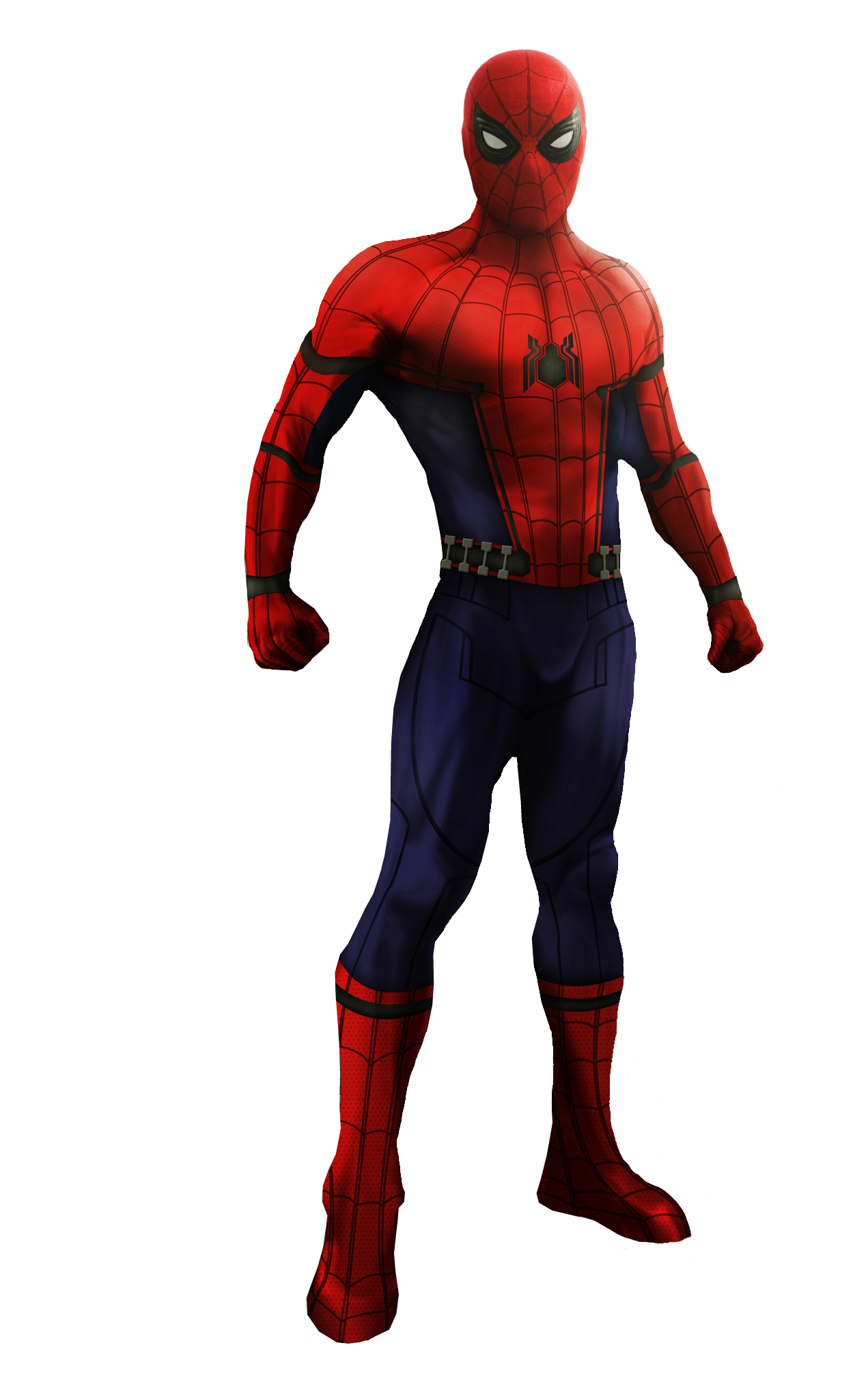 3d spider man transparent - photo #3