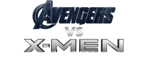 Avengers Vs X-men - Transparent Title by Asthonx1