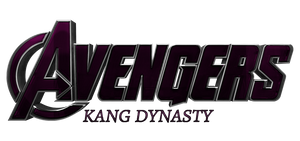 Avengers Kang Dynasty - Transparent Title by Asthonx1
