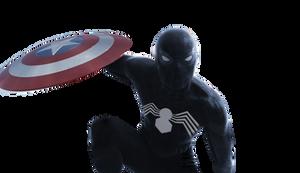 Spider-Man ( Symbiote) - Transparent