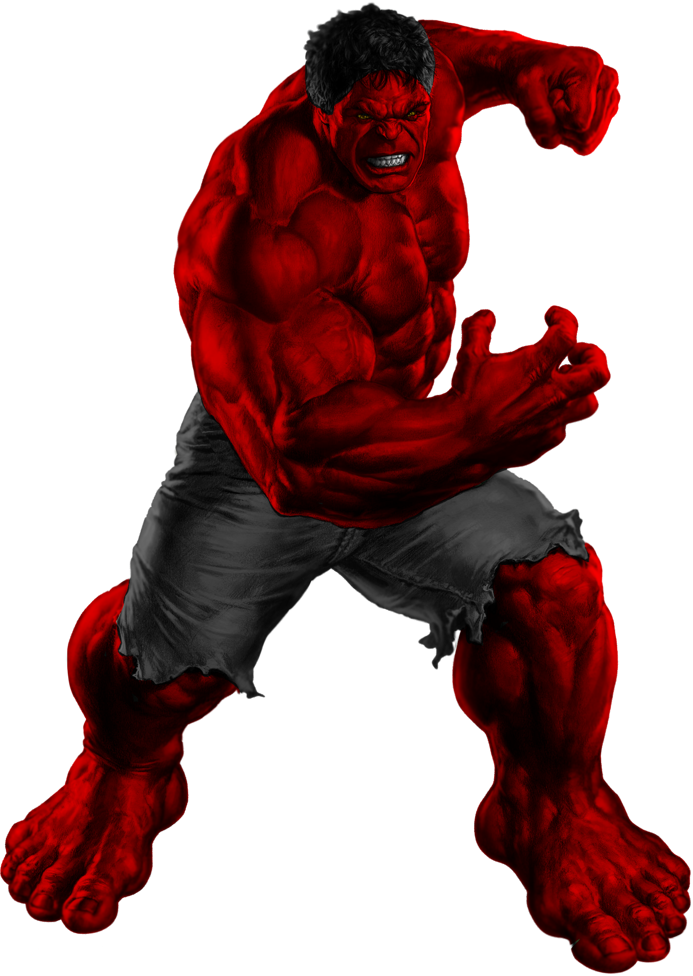 Red hulk transparent by asthonx1 on deviantart - Pictures of red hulk ...