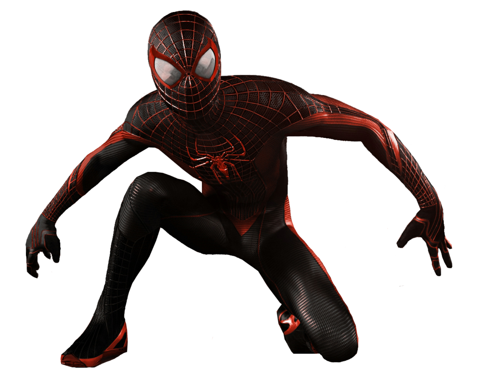 3d spider man transparent - photo #35