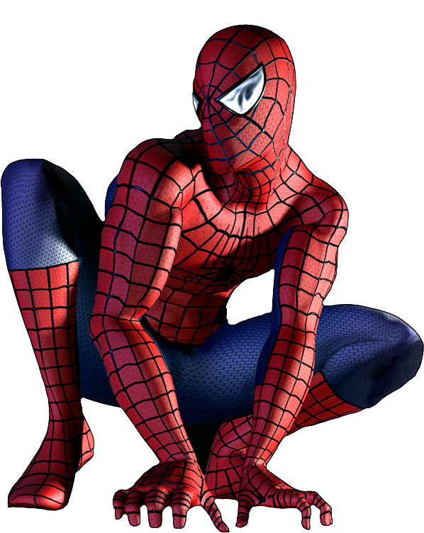 3d spider man transparent - photo #9