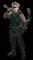 Green Arrow - Transparent