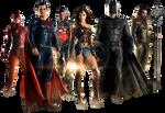 Justice League - Transparent
