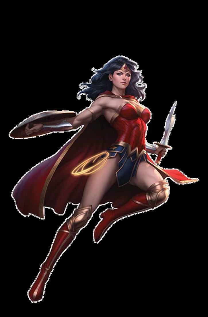 Wonder Woman (Rebirth) - Transparent by Asthonx1 on DeviantArt