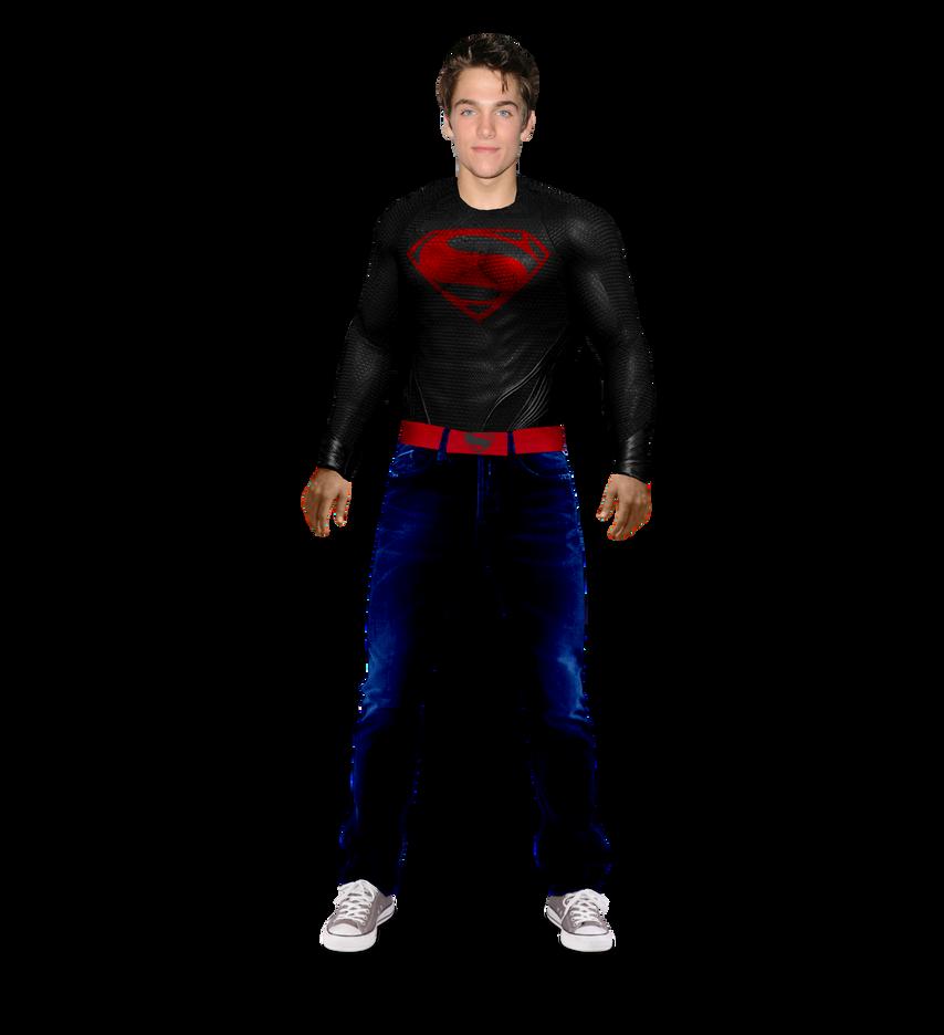 superboy transparent by asthonx1 on deviantart