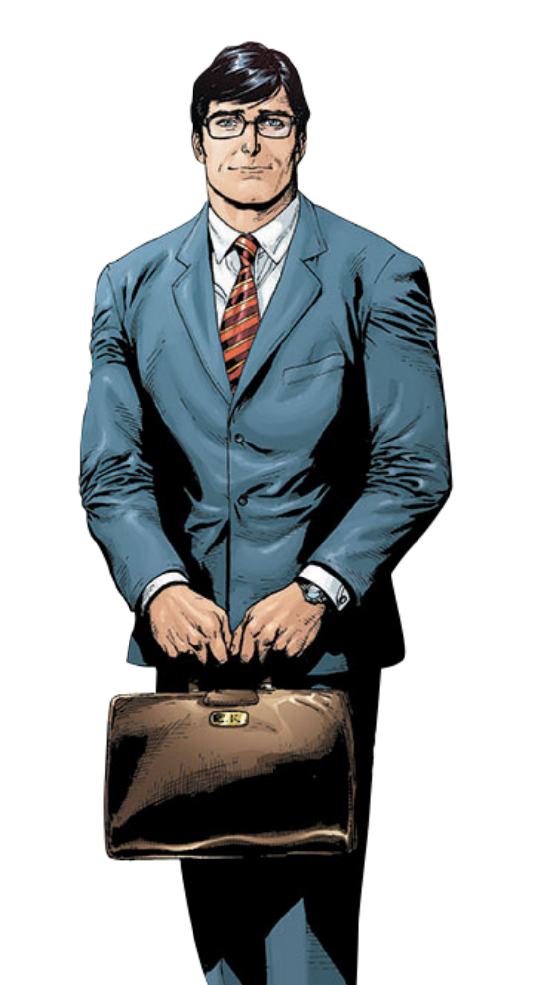 an examination of the identity of clark kent When he did the same thing dressed as clark kent,  living under his secret identity as clark kent,  close examination of this card reveals that,.