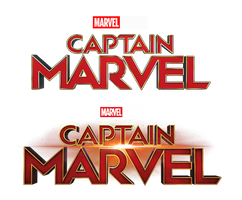 Captain Marvel - Title Transparent by Asthonx1
