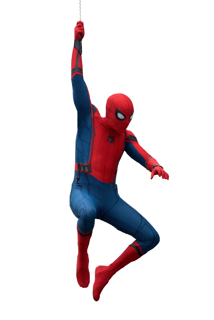 3d spider man transparent - photo #14