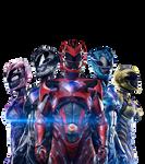 Power Rangers - Transparent