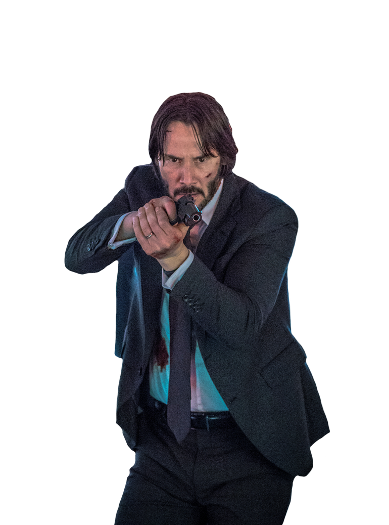John Wick Transparent By Asthonx1 On Deviantart