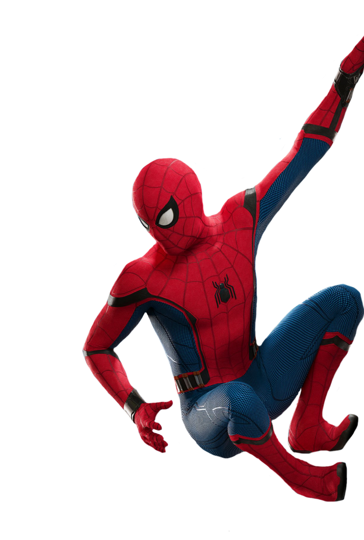 3d spider man transparent - photo #4