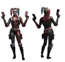Harley Quinn (Injustice 2) - Transparent by Asthonx1