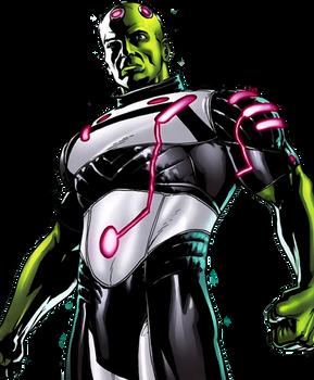 Brainiac (Vril Dox) - Transparent