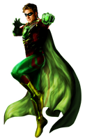 Green Lantern (Alan Scott) - Transparent