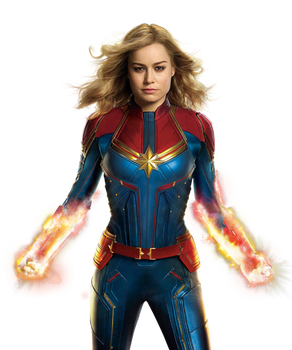 Captain Marvel - Transparent