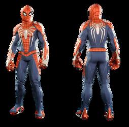 Spider-Man (Advanced Suit) - Transparent
