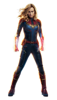 Captain Marvel - Transparent by Asthonx1