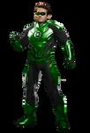 Green Lantern (Hal Jordan) - Transparent